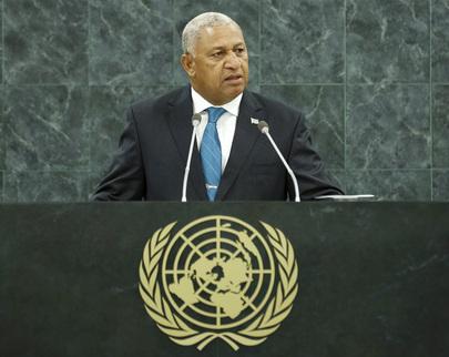 H.E. Mr.Commodore Josaia V. Bainimarama