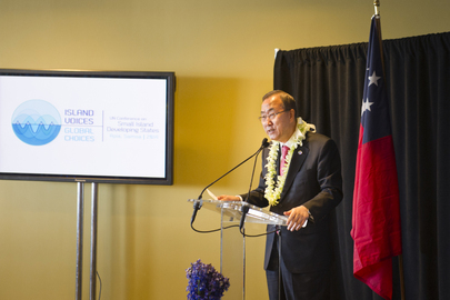 High-level Breakfast on 2014 International Conference on Small Island Developing States