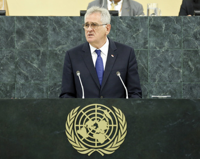 President of Serbia Addresses General Assembly