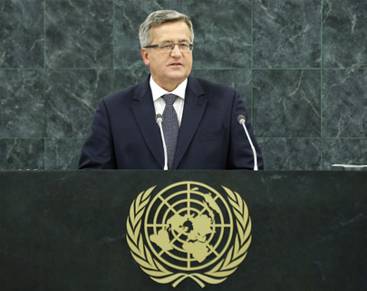 President of Poland Addresses General Assembly