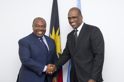 General Assembly President Meets President of Gabon