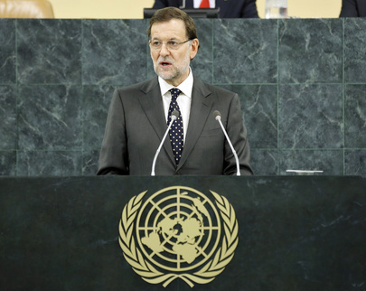 Prime Minister of Spain Addresses General Assembly