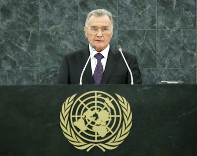 Prime Minister of Tajikistan Addresses General Assembly