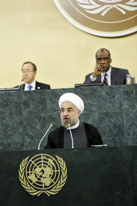 President of Iran Addresses High-level Meeting on Nuclear Disarmament