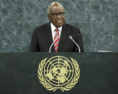 President of Namibia Addresses General Assembly