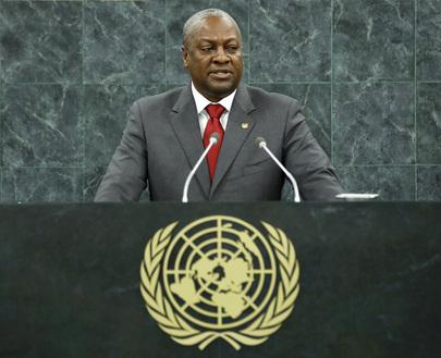 President of Ghana Addresses General Assembly