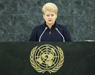 H.E. Mrs.Dalia Grybauskaitė