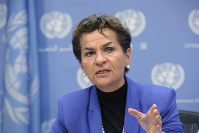 Head of UN Climate Change Framework Briefs Press