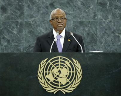 H.E. Mr.Manuel Serifo Nhamadjo (Interim President)