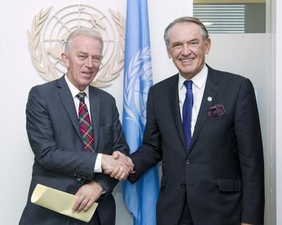 Deputy Secretary-General Meets Foreign Minister of Denmark