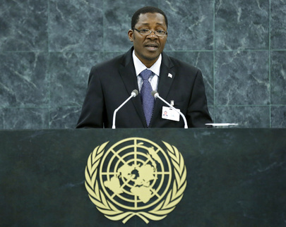 Foreign Minister of Benin Addresses General Assembly