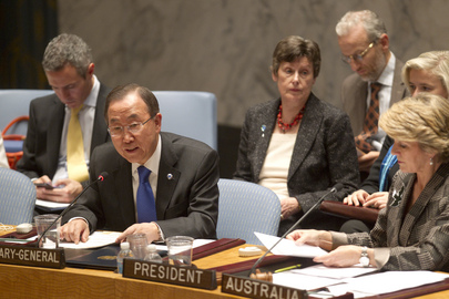 Security Council Holds High-level Meeting on Small Arms
