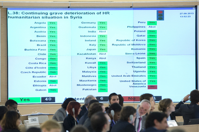 Rights Council Condemns Deteriorating Situation in Syria