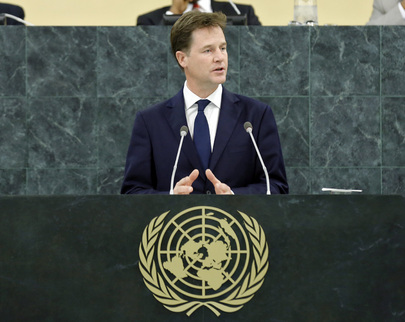 Deputy Prime Minister of United Kingdom Addresses General Assembly