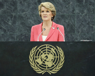 H.E. Mrs.Julie Bishop