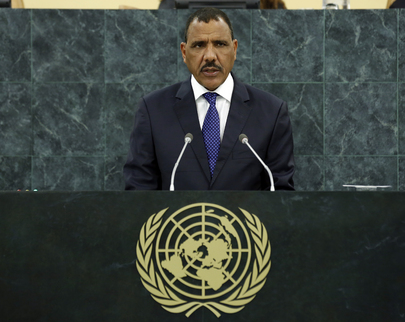 Minister of State for Foreign Affairs of Niger Addresses General Assembly