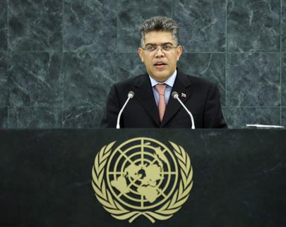 H.E. Mr.Elías J. Jaua Milano