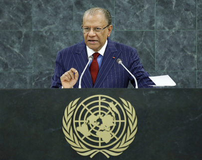 Prime Minister of Mauritius Addresses General Assembly