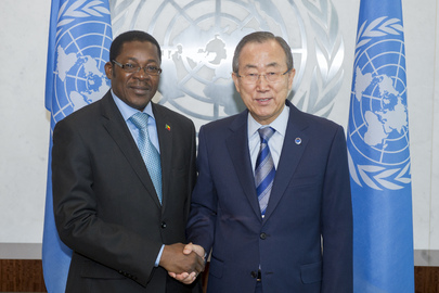 Secretary-General Meets Foreign Minister of Benin