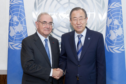 Secretary-General Meets Foreign Minister of Portugal
