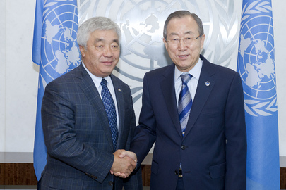 Secretary-General Meets Foreign Minister of Kazakhstan
