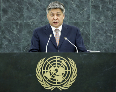 Foreign Minister of Kyrgyzstan Addresses General Assembly