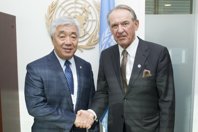 Deputy Secretary-General Meets Foreign Minister of Kazakhstan