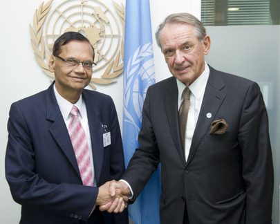 Deputy Secretary-General Meets Foreign Minister of Sri Lanka