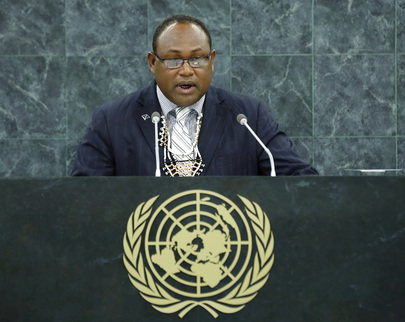 Deputy Prime Minister of Solomon Islands Addresses General Assembly