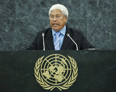 Deputy Prime Minister of Tuvalu Addresses General Assembly