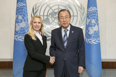 Secretary-General Meets Foreign Minister of Liechtenstein