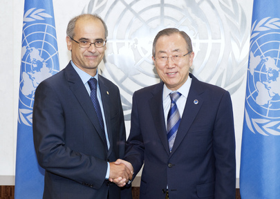 Secretary-General Meets Prime Minister of Andorra