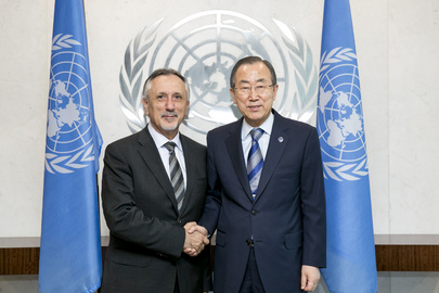 Secretary-General Meets Foreign Minister of San Marino