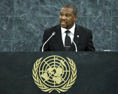 External Affairs Minister of Saint Lucia Addresses General Assembly