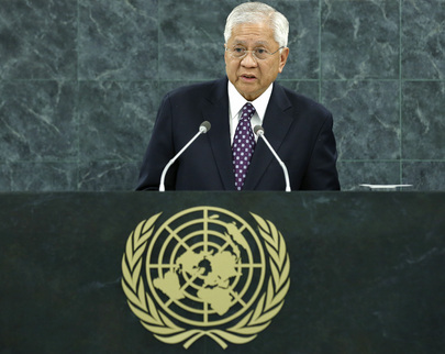 H.E. Mr.Albert F. del Rosario