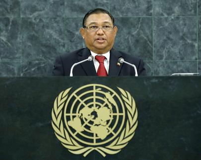 H.E. Mr.U Wunna Maung Lwin