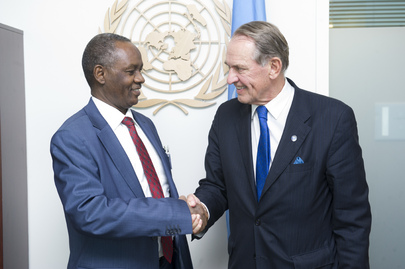 Deputy Secretary-General Meets Justice Minister of Sudan