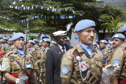 Medal Ceremony for MONUSCO Pakistan Contingent