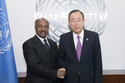 Secretary-General Meets Foreign Minister of Eritrea