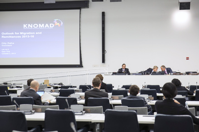 "Event on ""Migration and Remittance Estimates"" Held ahead of High-Level Dialogue"