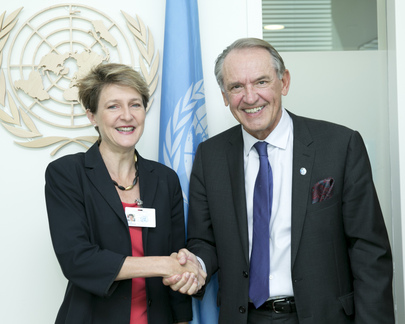 Deputy Secretary-General Meets Justice Minister of Switzerland