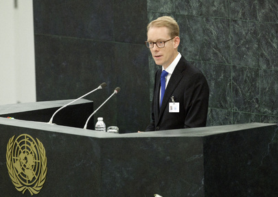 Swedish Migration Minister Addresses High-level Dialogue on Migration and Development