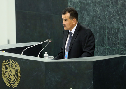 Labour Minister of Kyrgyzstan Addresses High-level Dialogue on Migration and Development
