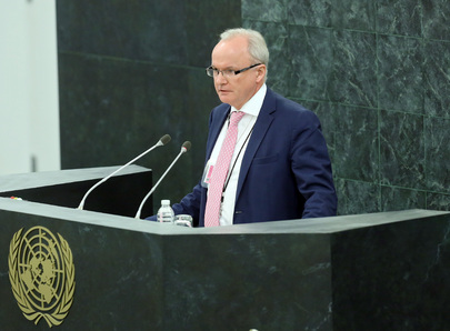U.K. Home Office Director Addresses High-level Dialogue on Migration and Development