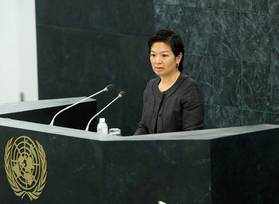 Permanent Representative of Singapore Addresses High-level Dialogue on Migration and Development