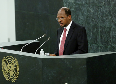 Permanent Representative of Guyana Addresses High-level Dialogue on Migration and Development