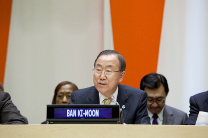 Secretary-General Speaks at World Habitat Day 2013