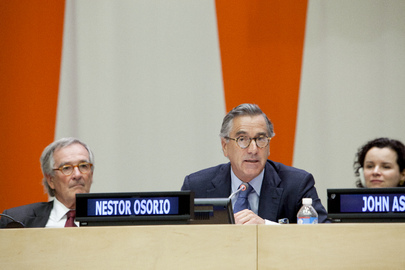 ECOSOC President Speaks at World Habitat Day 2013