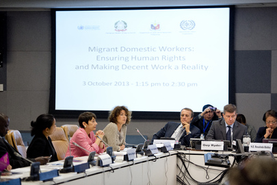 ILO Director Speaks at Event on Migrant Domestic Workers