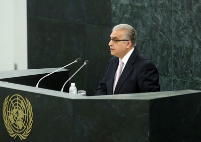 Permanent Representative of Iraq Addresses High-level Dialogue on Migration and Development